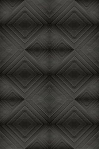 Carta da parati nero rombi stile geometrico