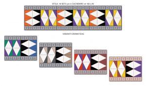 stola collezione Geometrico