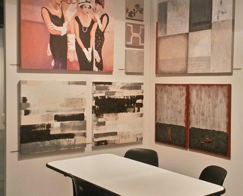 le opere di Marisa Caprara ad Art Parma Fair