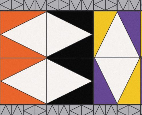 stola geometrico particolare