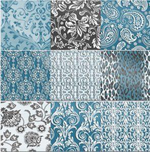 Disegno per rivestimento ceramico patchwork (2013)