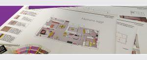 disegni tecnici e rendering per interior design