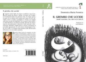 copertina libro con opera di Marisa Caprara