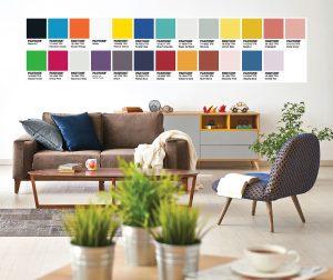 colori e tendenze per l'interior design 2018